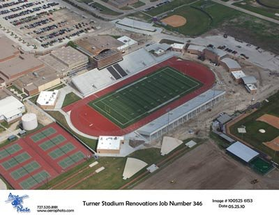 New look of Turner Stadium
