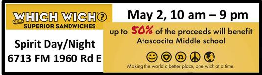 Which Wich Spirit Day - May 2