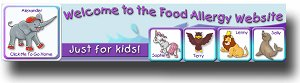 Kids Food Allergy Website