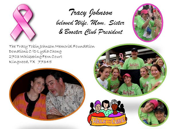 Tracy Johnson Tribute