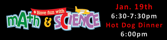 Math and science night jan 19th