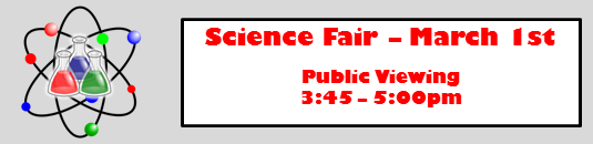 science fair march 1