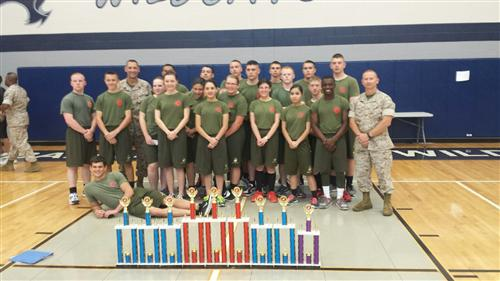Tomball Memorial Drill Meet