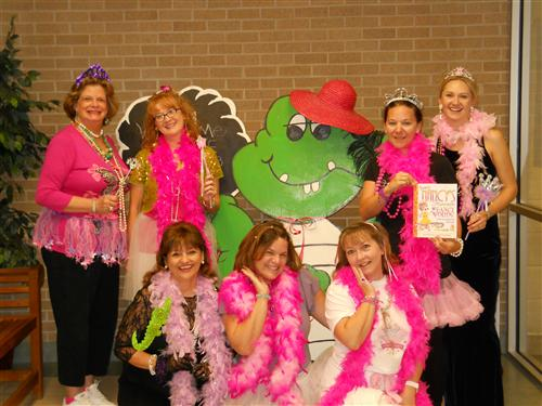 Fancy Nancy and the Fancy Front Office Team