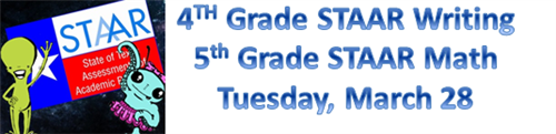 STAAR Testing March 28
