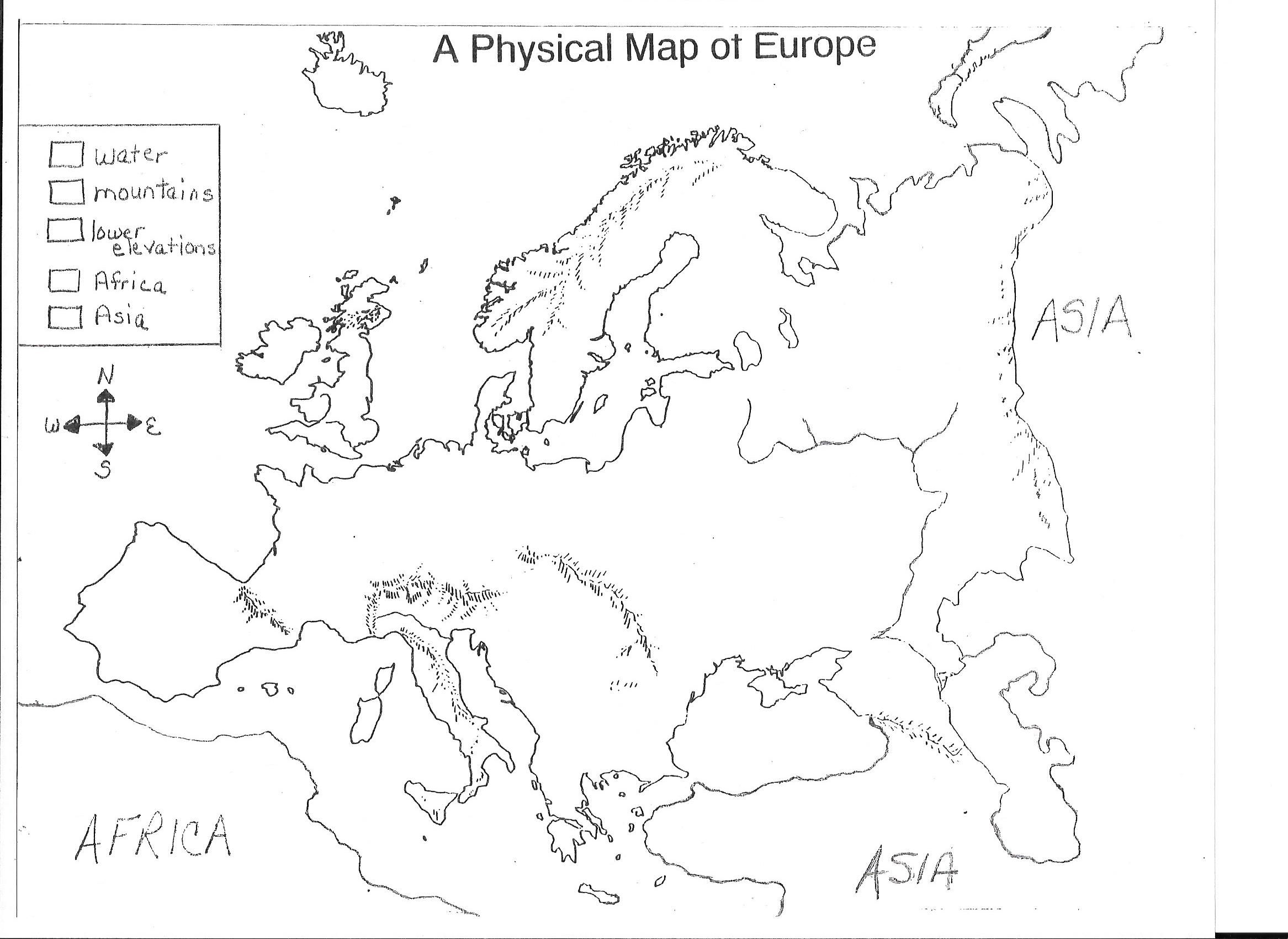Image Result For About Physical Map