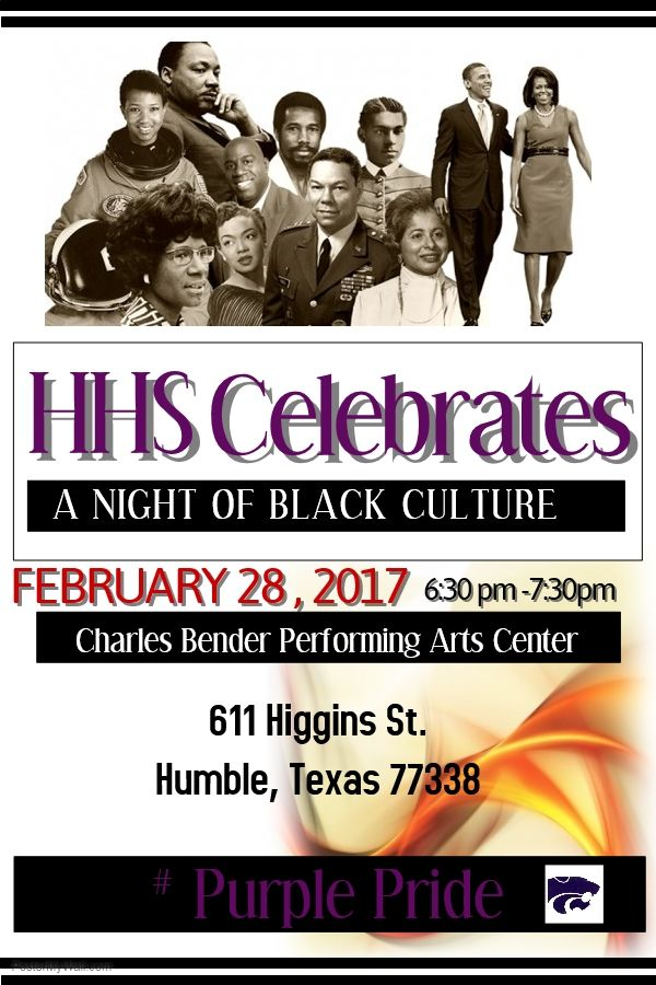 HHS Celebrates A Night of Black Culture Tuesday, February 28, 2017