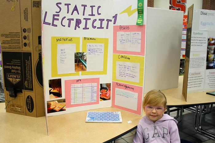 Science Fair Project- Electrify Electricity |Static Electricity Science Project For Abstract